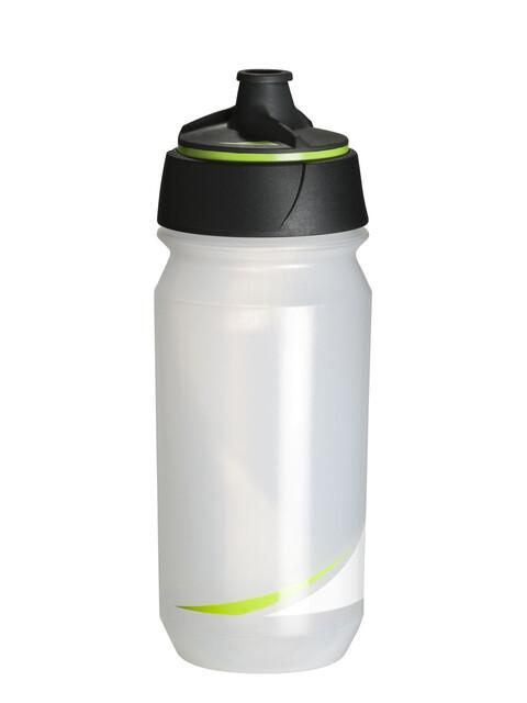 Tacx Shanti Twist Trinkflasche 500ml transparent/grün